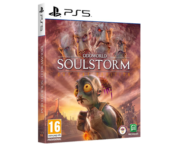 Oddworld: Soulstorm Steelbook Edition (Русская версия)(PS5)