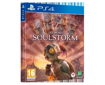 Oddworld: Soulstorm Steelbook Edition (Русская версия)(PS4)