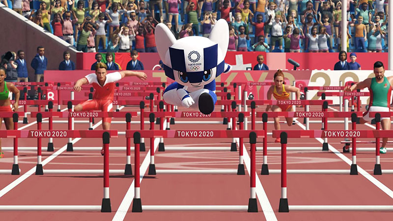 Olympic Games Tokyo 2020 The Official Video Game  PS4 дополнительное изображение 1