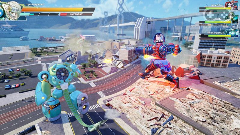 Override 2 Super Mech League Ultraman Deluxe Edition US PS5 дополнительное изображение 3
