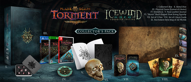Planescape Torment & Icewind Dale Enhanced Edition Collectors Pack  Xbox One дополнительное изображение 1
