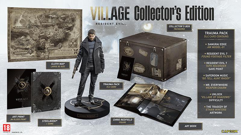 Resident Evil Village Collectors Edition  Xbox One/Series X  только по предопла дополнительное изображение 1