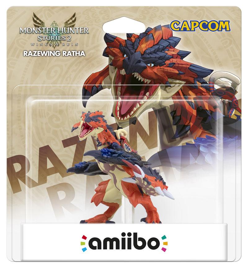 amiibo Razewing Ratha коллекция Monster Hunter  дополнительное изображение 1