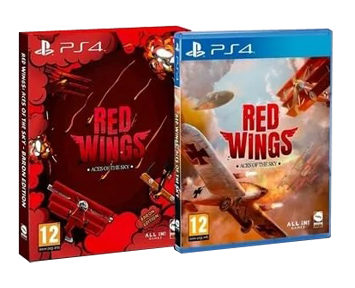 Red Wings: Aces of the Sky Baron Edition (Русская версия)(PS4)