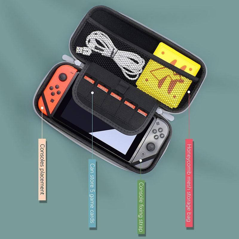 Дорожный чехол Red\Blue  Nintendo Switch дополнительное изображение 1