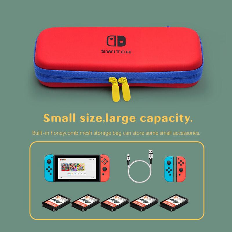 Дорожный чехол Red\Blue  Nintendo Switch дополнительное изображение 2