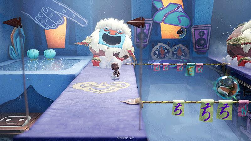 Sackboy A Big Adventure Сэкбой Большое приключение PS5 дополнительное изображение 3