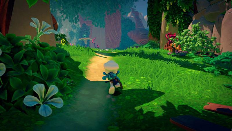 Смурфики The Smurf Mission Vileaf Collectors Edition  PS4  дополнительное изображение 2