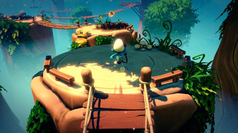 Смурфики The Smurf Mission Vileaf Collectors Edition  PS4  дополнительное изображение 3
