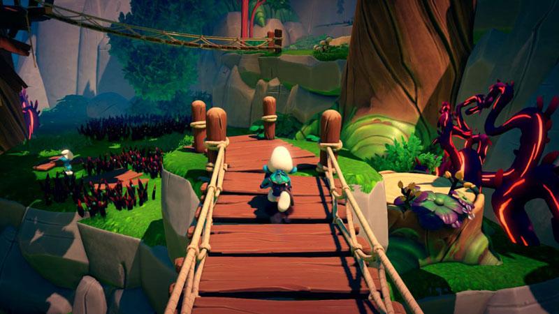 Смурфики The Smurf Mission Vileaf Collectors Edition  PS4  дополнительное изображение 4