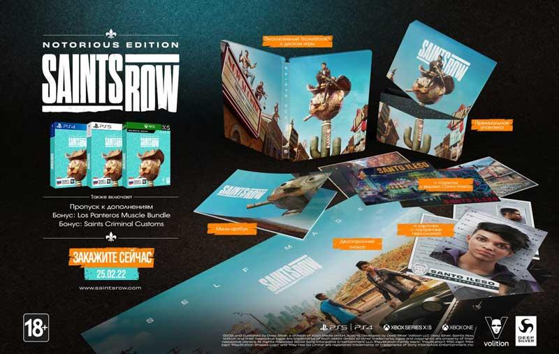 SAINTS ROW Notorious Edition  PS4  дополнительное изображение 5