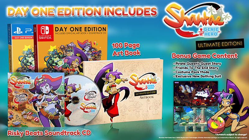 Shantae Half-Genie Hero - Ultimate Day One Edition  Nintendo Switch дополнительное изображение 1
