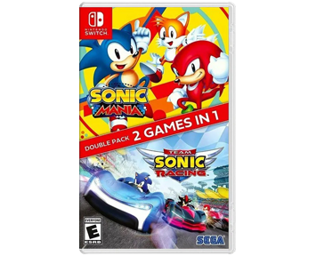 Sonic Mania Plus Team Sonic Racing Double Pack (Nintendo Switch)
