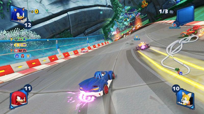 Sonic Mania Plus Team Sonic Racing Double Pack  Nintendo Switch дополнительное изображение 3