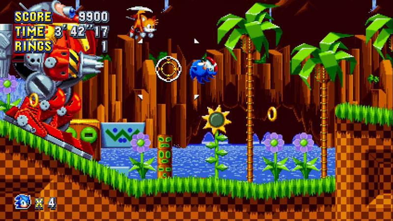 Sonic Mania  US Nintendo Switch дополнительное изображение 1