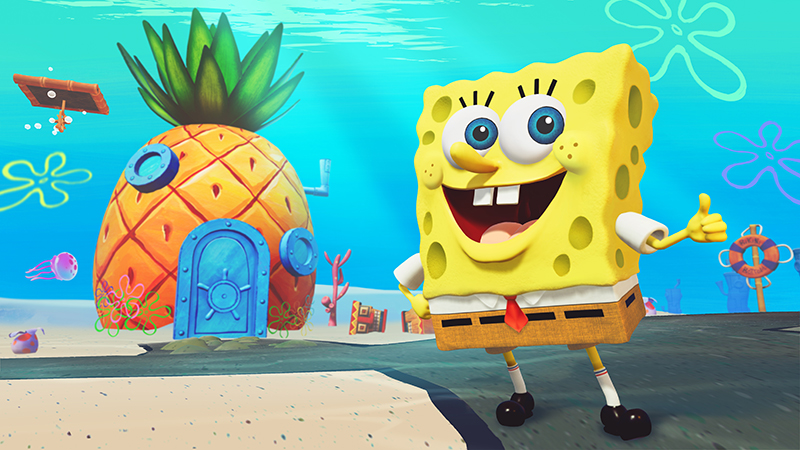 SpongeBob SquarePants Battle For Bikini Bottom -Rehydrated  PS4 дополнительное изображение 1