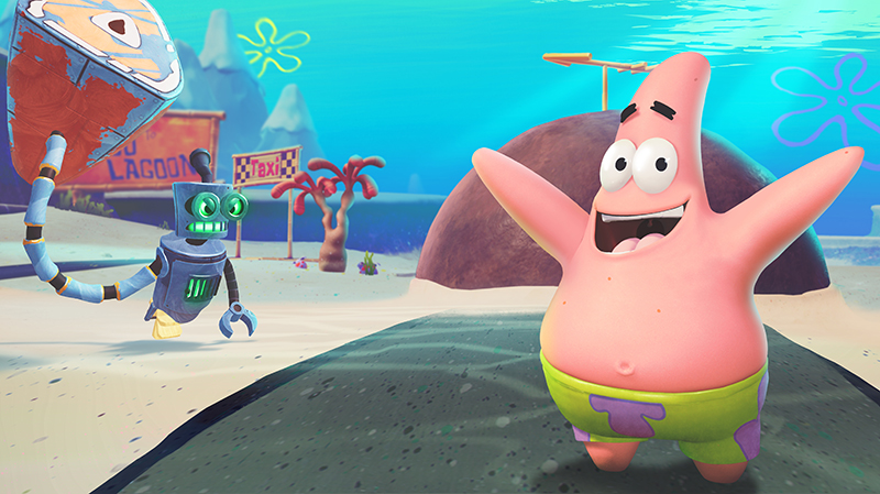 SpongeBob SquarePants Battle For Bikini Bottom -Rehydrated  PS4 дополнительное изображение 2