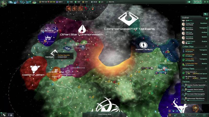 Stellaris Console Edition  PS4 дополнительное изображение 1