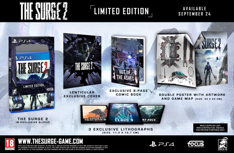 Surge 2 Limited Edition  PS4 дополнительное изображение 1