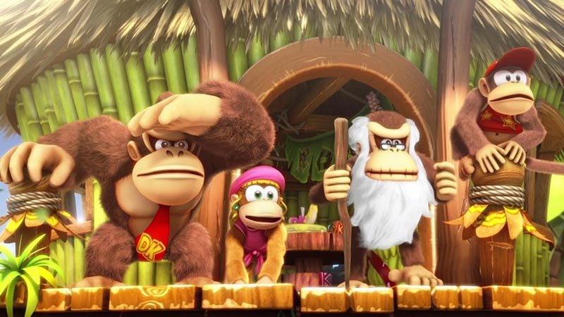Donkey Kong Country Tropical Freeze  Nintendo Switch дополнительное изображение 1