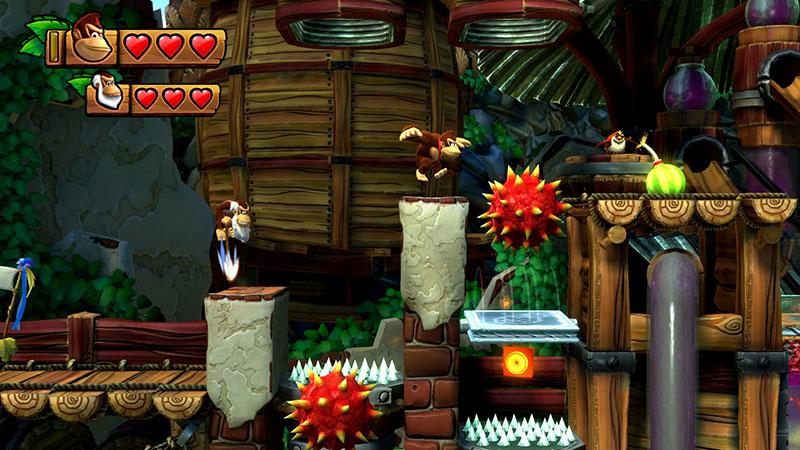 Donkey Kong Country Tropical Freeze  Nintendo Switch дополнительное изображение 2