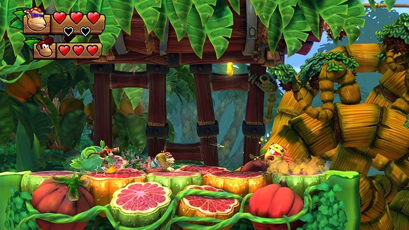Donkey Kong Country Tropical Freeze  Nintendo Switch дополнительное изображение 3
