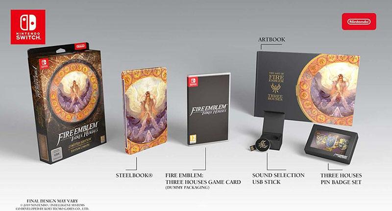 Fire Emblem Three Houses Limited Edition  Nintendo Switch дополнительное изображение 4