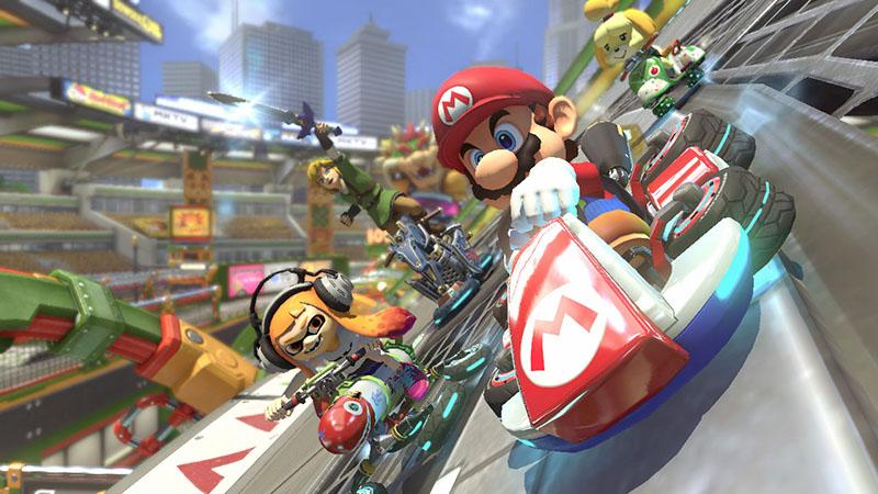 Mario Kart 8 Deluxe  Nintendo Switch дополнительное изображение 1