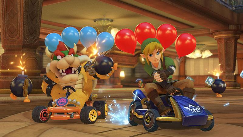 Mario Kart 8 Deluxe  Nintendo Switch дополнительное изображение 2