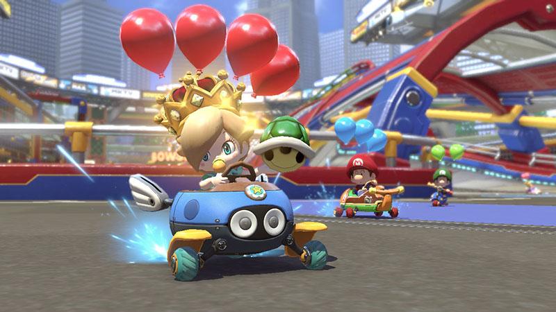 Mario Kart 8 Deluxe  Nintendo Switch дополнительное изображение 3