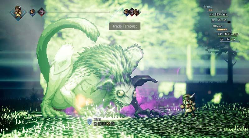 Octopath Traveler  Nintendo Switch дополнительное изображение 2