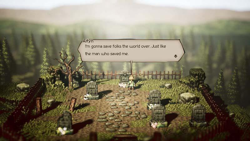 Octopath Traveler  Nintendo Switch дополнительное изображение 3