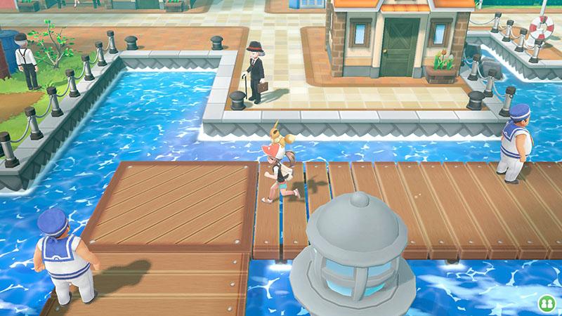 Pokemon Let's Go, Eevee!  Nintendo Switch дополнительное изображение 1