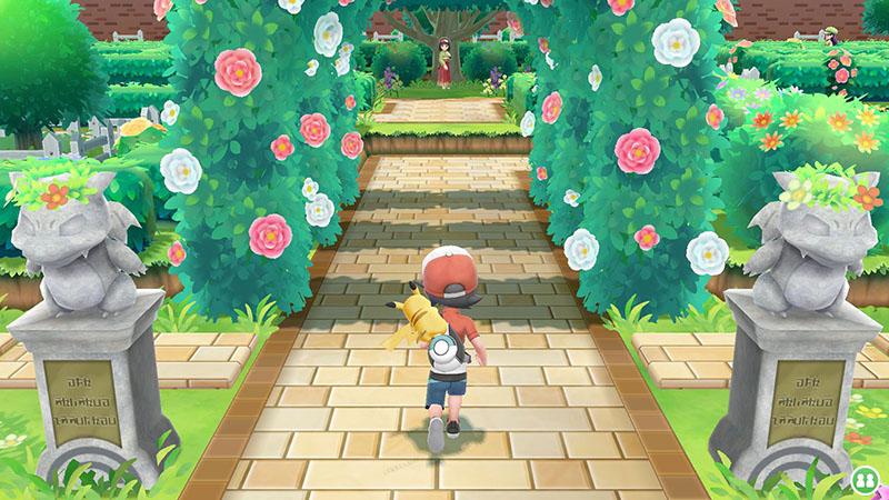 Pokemon Let's Go, Pikachu!  Nintendo Switch дополнительное изображение 2