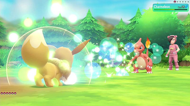 Pokemon Let's Go, Eevee!  Nintendo Switch дополнительное изображение 3