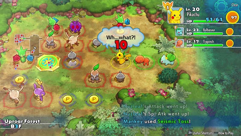 Pokemon Mystery Dungeon Rescue Team DX  Nintendo Switch дополнительное изображение 3