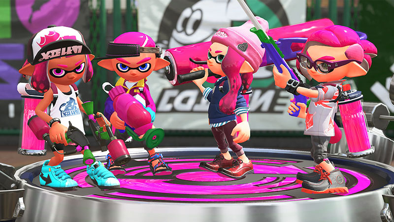 Splatoon 2  Nintendo Switch дополнительное изображение 1