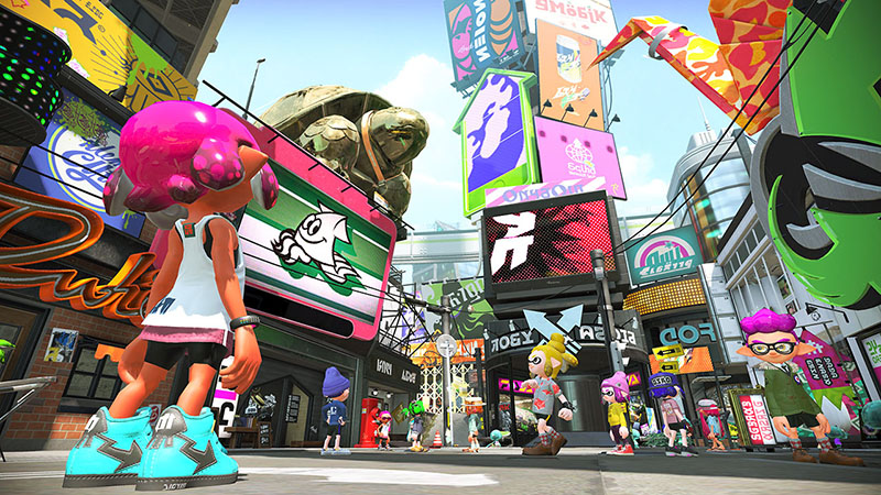 Splatoon 2  Nintendo Switch дополнительное изображение 2