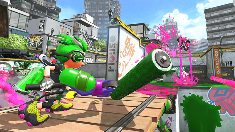 Splatoon 2  Nintendo Switch дополнительное изображение 3