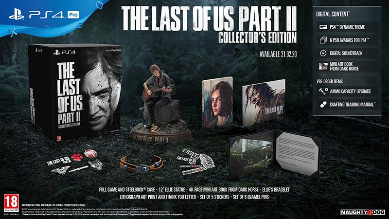 Last of Us Part II Collector Edition Одни из нас Часть II PS4 дополнительное изображение 1
