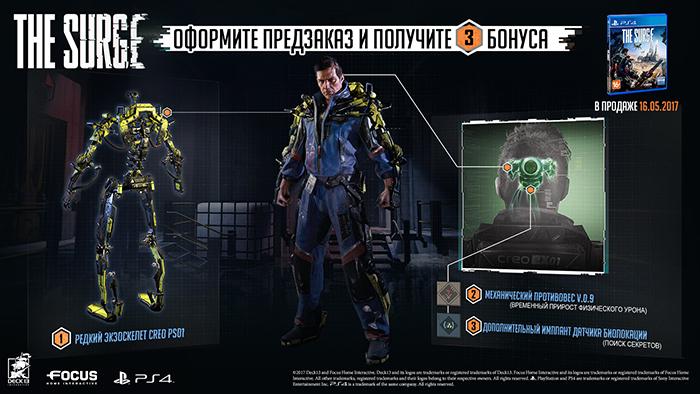 Surge  PS4 дополнительное изображение 1