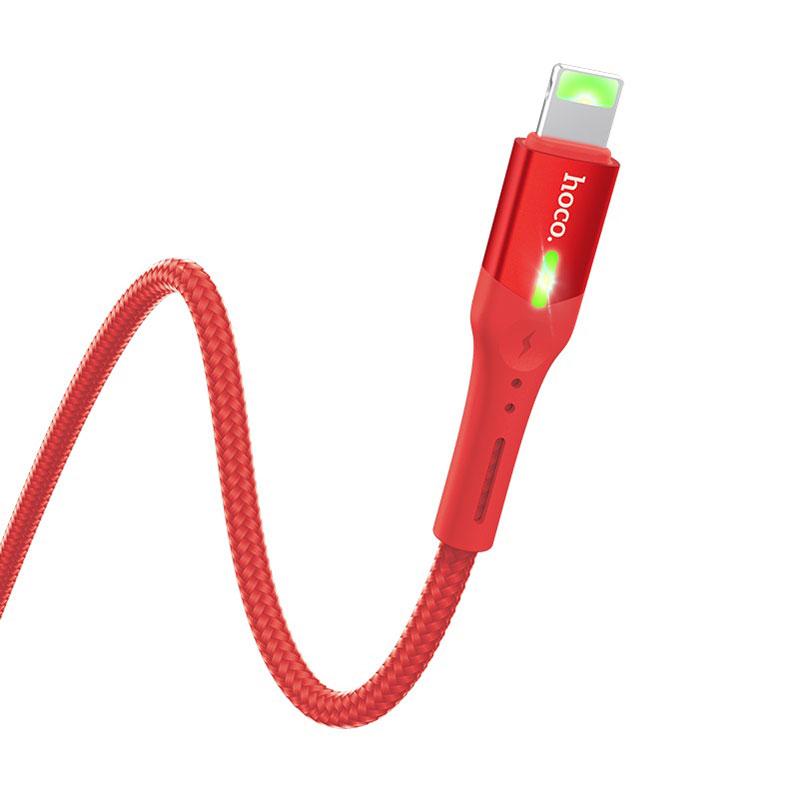 Кабель USB HOCO S24 Lightning Red дополнительное изображение 3