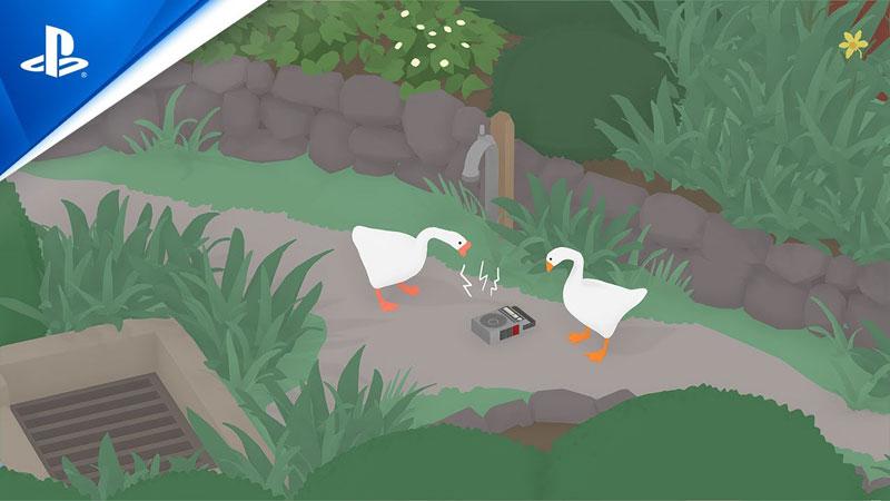Untitled Goose Game US PS4 дополнительное изображение 1