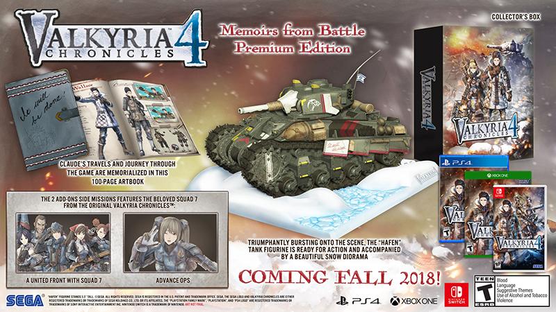 Valkyria Chronicles 4 Memoirs from Battle Premium Edition  PS4 дополнительное изображение 1