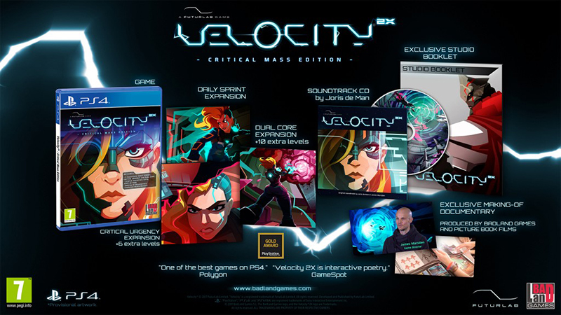 Velocity 2X Critical Mass Edition  PS4 дополнительное изображение 1
