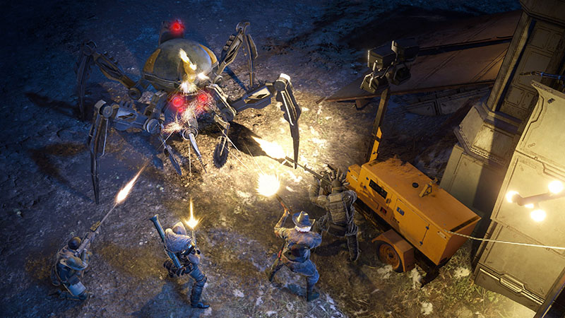 Wasteland 3 Day One Edition  PS4 дополнительное изображение 3