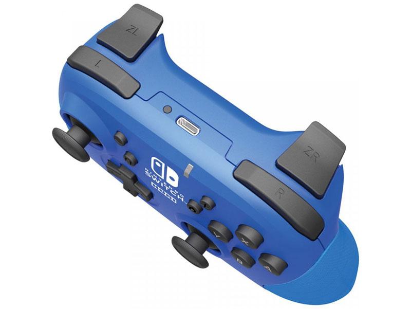 Геймпад Hori Wireless Horipad Blue  Nintendo Switch дополнительное изображение 2