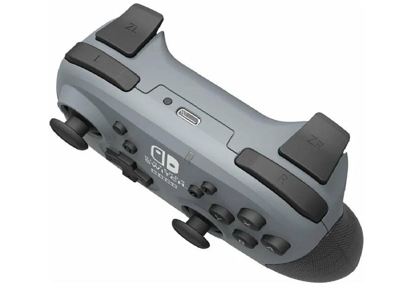 Геймпад Hori Wireless Horipad Grey  Nintendo Switch дополнительное изображение 2