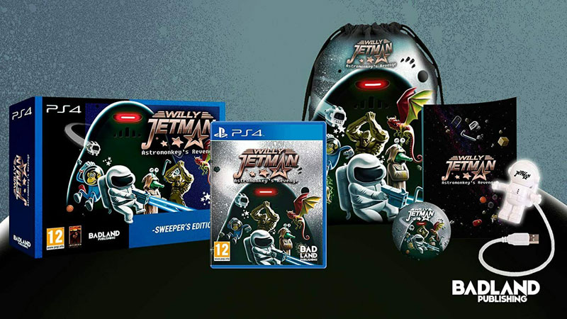 Willy Jetman Astromonkey Revenge Sweeper Edition  PS4 дополнительное изображение 1