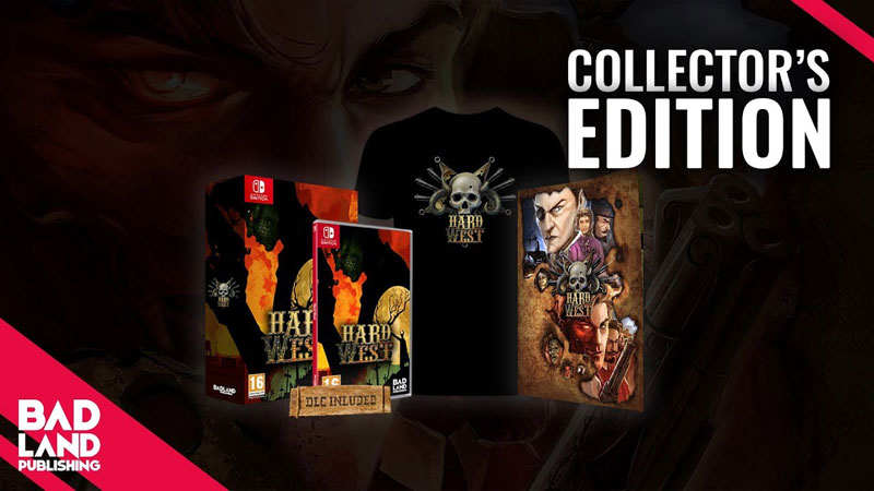 Hard West Collector Edition  Nintendo Switch дополнительное изображение 3